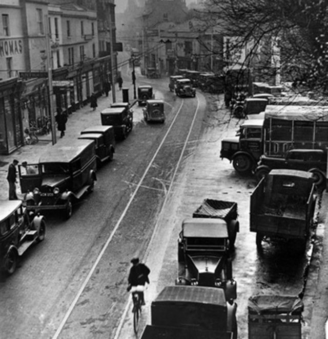 Walcot Street before it was designated as an artisan quarter. Not much has changed…