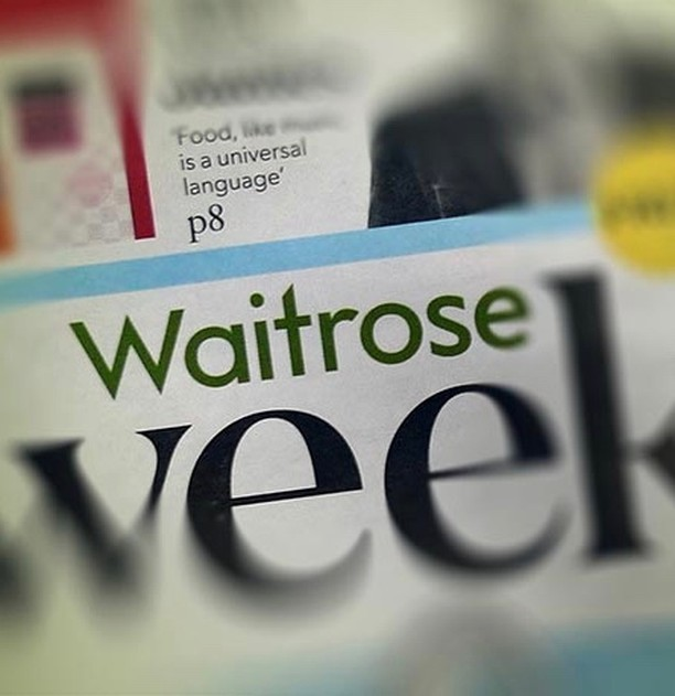 Has anyone kept a copy of Waitrose Weekend from 12th September? Chapel Row featured in 'The 50 Best Places for Lunch under £30.' To find out for yourself book online or drop by Wednesday to Friday. Our set lunch changes regularly and we suggest the perfect wine pairing for each dish. If you do have a copy please drop one off and stay for a drink.