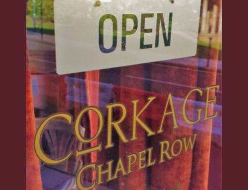 Reopening Corkage Chapel Row – We can't wait wait to see you again!