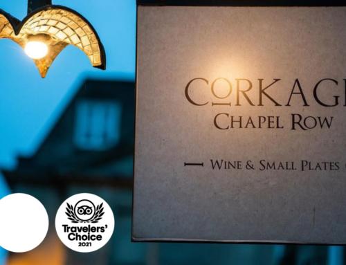 Corkage Wins 2021 Tripadvisor Travellers' Choice Award