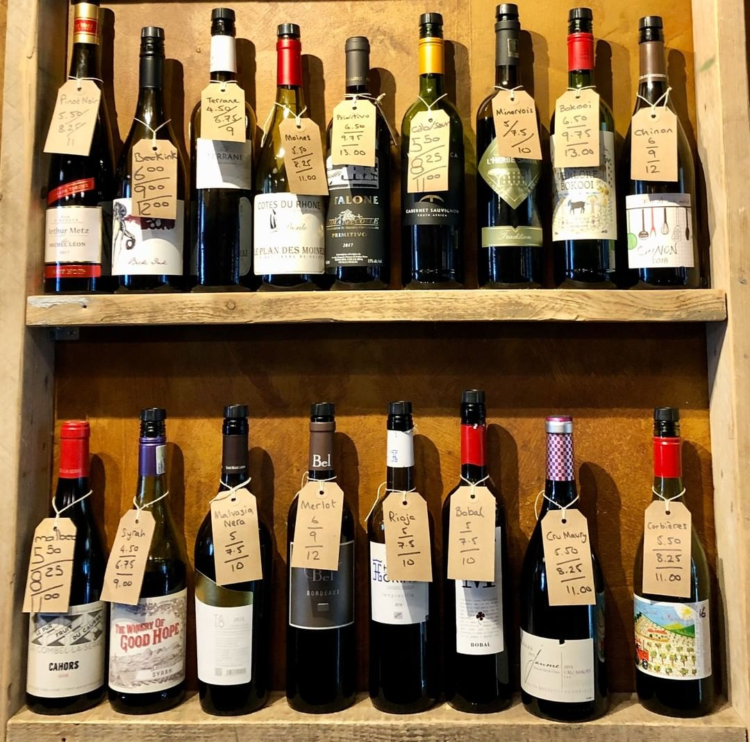 At Corkage you can try any of our wines available by the glass before you commit. Here is a small sample of our by the glass reds at Walcot Street.