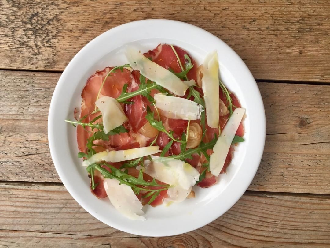 Coppa, pecorino, pickled onions, rocket. One of our set menu starters at Chapel Row this week. Did we mention that we featured in Waitrose's Top 50 Places for Lunch Under £30?