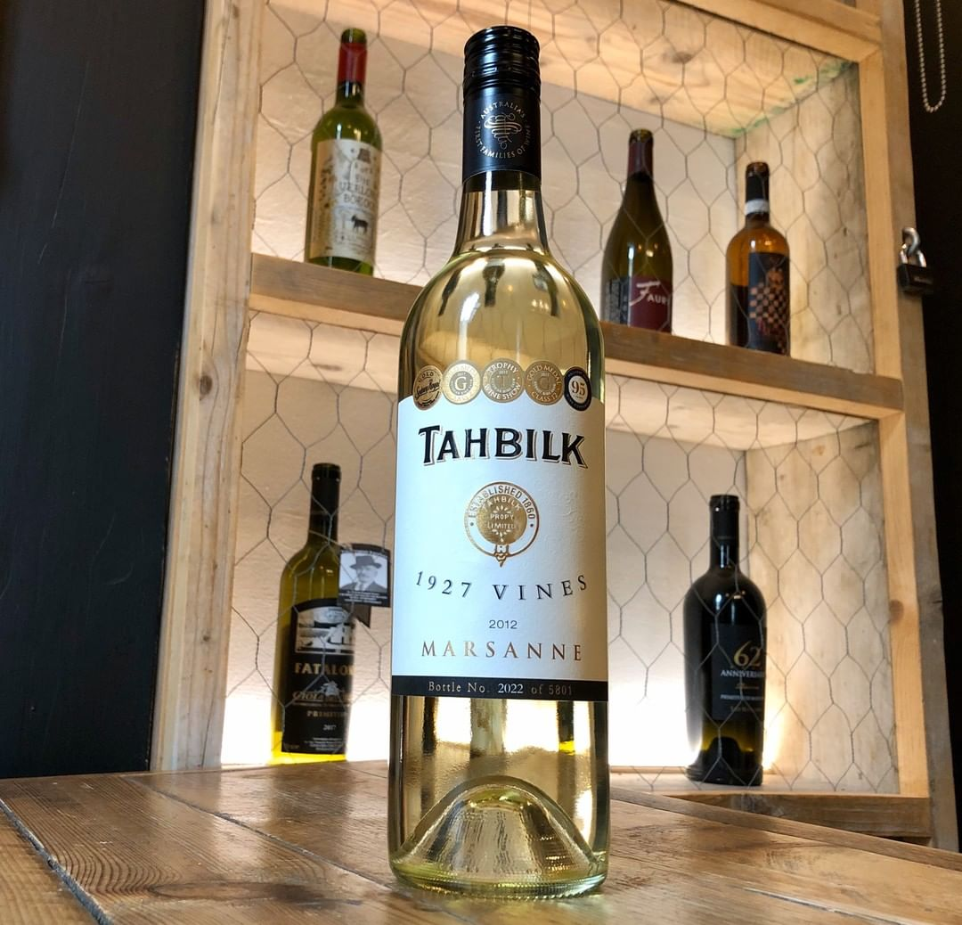 'Don't think there is a better value white out there at the moment,' so says Chris Losh of Imbibe magazine. Guess what, we have this Museum Release Marsanne from 2012 on the list at Walcot. Expect honeysuckle, toast and baked lemons. Delightful.