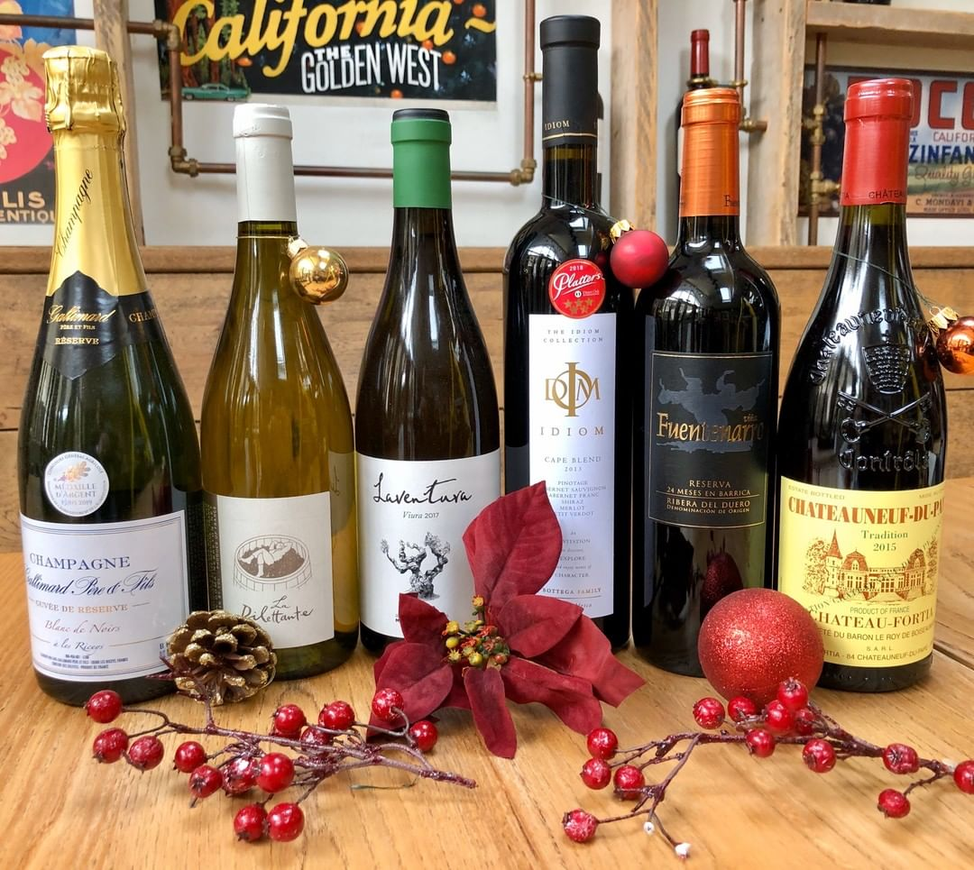 Our Vine Club goes festive this week with the release of our two special Xmas mixed cases. Skinted and minted options are available. Drop in to find out more or mix your own case. Or but directly for yourself or others using our new voucher scheme on the website.