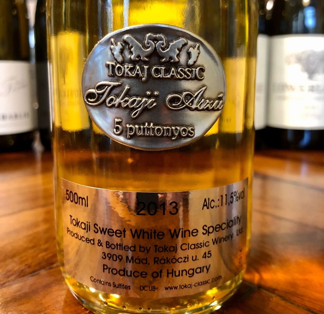 If you like stickies then we have this delectable sweet wine from Tokaj for you to try by the glass. It has a well-earned reputation as the Wine of Kings, the King of Wines. A rich nose of apricot, celery salt and Asian spices. Unforgettable.