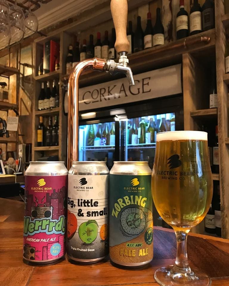 Great win for @bathrugby  at the Rec today – if you're off to celebrate swing by either Corkage and enjoy the locally made beers we stock from @electricbearbrewing or a glass of wine from our great wine list @visitbath @independentbath @bathrestaurants #corkagebath #bathrugby #electricbearbrewery
