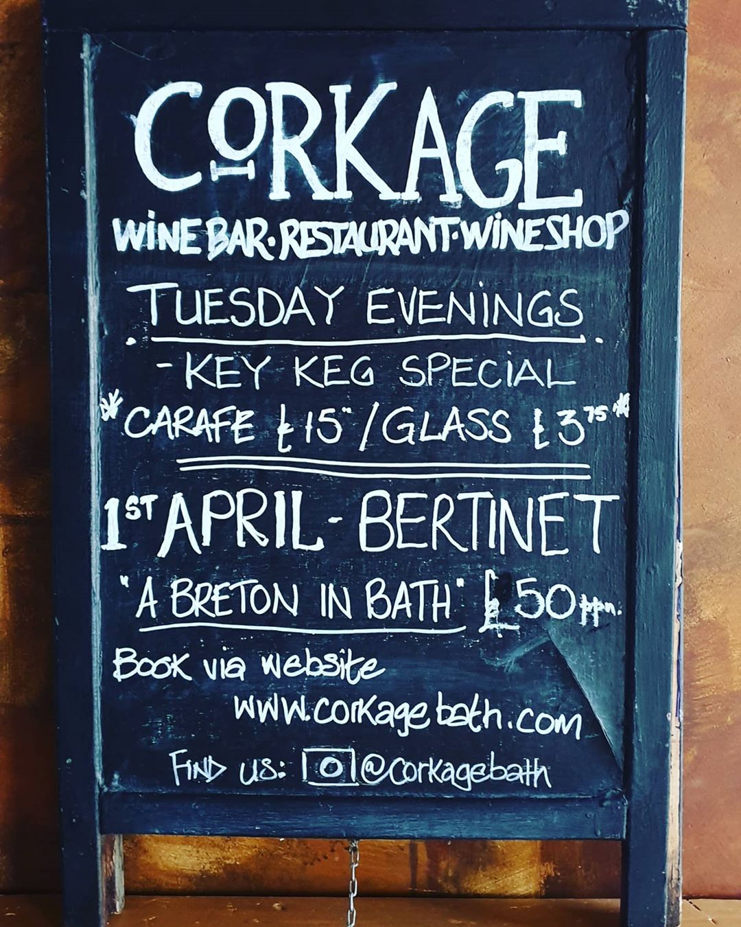 Our link to the Bertinet night has been sorted now – please head to link in bio to book – apologies for the delay! #corkagebath #restaurant #bertinet