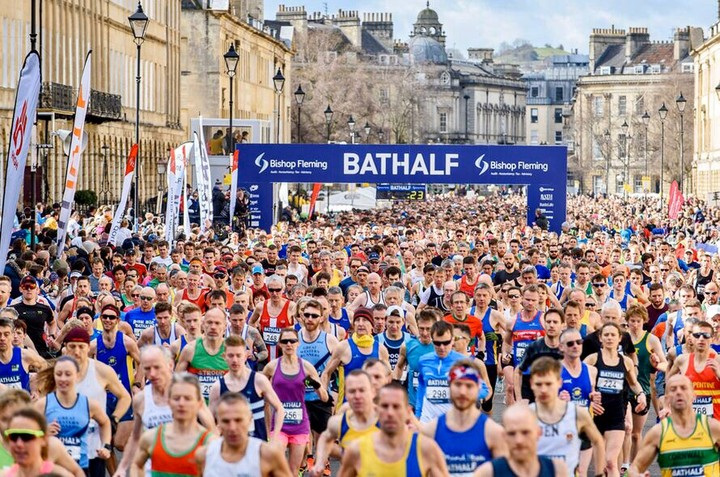 Whether for exercise or being chased by a lion or raising money for charity, there are many good reasons to run. But don't run on empty. Don't even watch on empty. Fuel up at Chapel Row for the Bathalf. We are throwing the doors open especially. Sunday 15th March from 12-6 pm. Book online now.